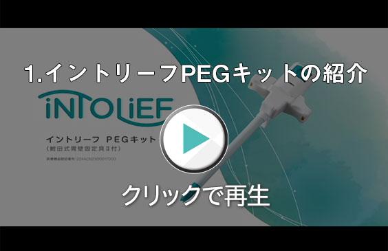 イントリーフPEGキットの紹介動画-クリックで再生